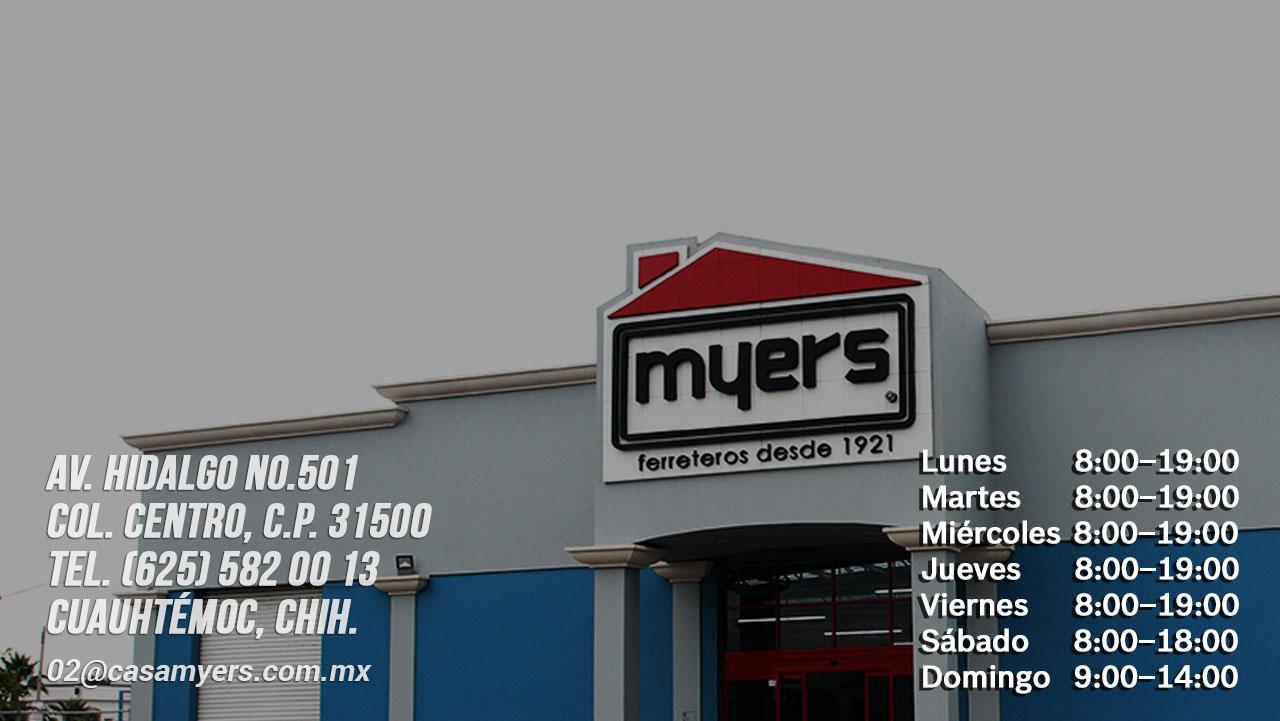 tienda casa myers cd .cuauhtemoc